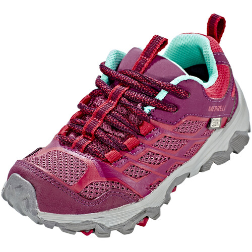 Merrell Moab FST Low Waterproof - Chaussures Enfant - rose sur campz.fr ! Trouver Une Grande Vente En Ligne YNayV354T